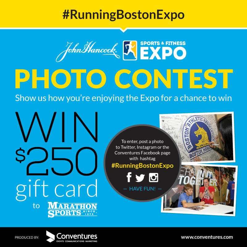 Boston Marathon Expo Photo Contest #RunningBostonExpo