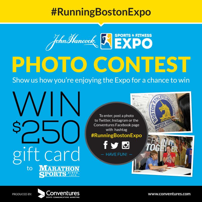 Boston Marathon Expo Photo Contest #RunningBostonExpo