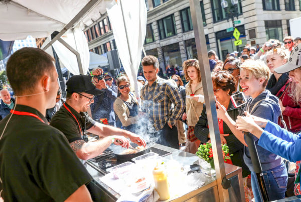 Taste of Downtown Crossing event in Boston.