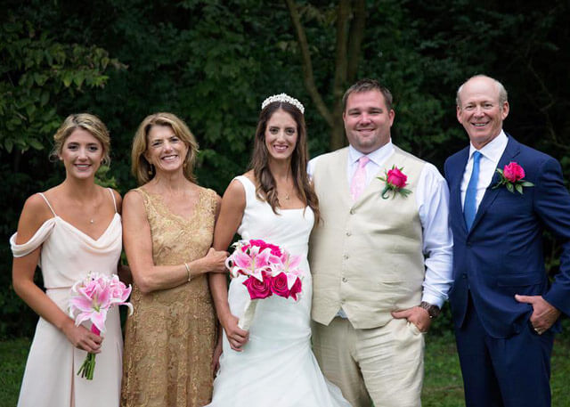 Caroline with Family