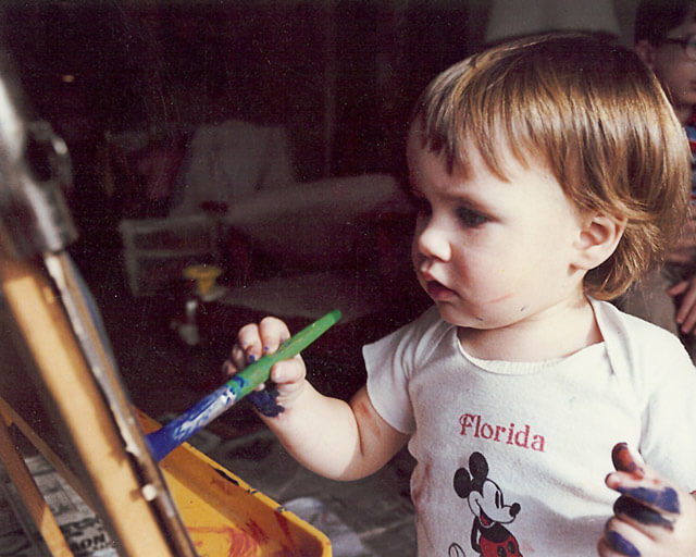 Erin painting
