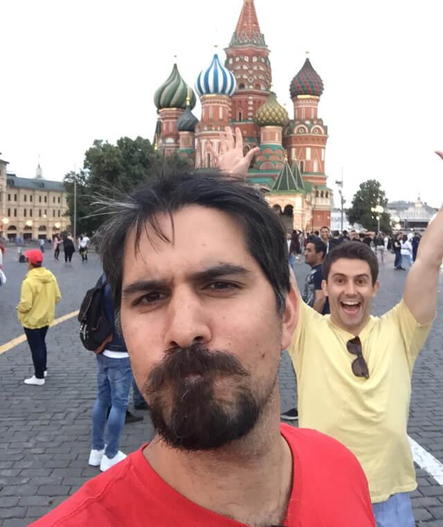 Tyler in Russia